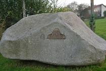 Pamětní kámen v rodišti Jakuba Bursy