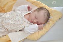 Ema Poláková z Radošovic. Emička se narodila 18. července 2019 ve 21 hodin a 10 minut a její porodní váha byla 3130 gramů. Na holčičku se doma všichni moc těšili. foto Ivana Řandová
