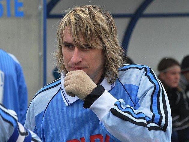 Karel Hanzlík dal jeden gól Bělčic.