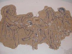 Malby na stěně strakonického hradního sklípku pocházejí podle prvních odhadů památkářů z 20. století. O jejich osudu rozhodnou až další průzkumy. Pravděpodobně však nebudou zachovány pro veřejnost.