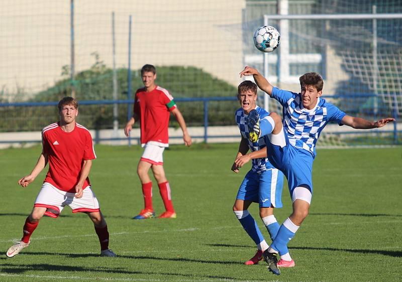 Fotbalová A třída: Vodňany - Strunkovice 2:3.