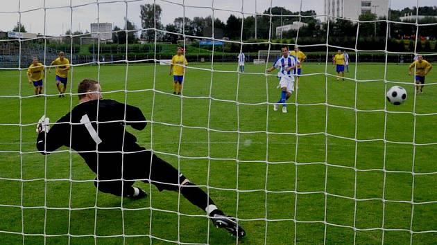 Strakoničtí fotbalisté přivezli z Benešova bod za remízu 1:1.