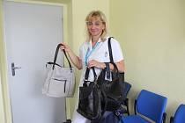 Hlavní sestra strakonické nemocnice Edita Klavíková.