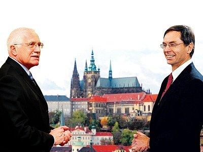 Václav Klaus a Jan Švejnar.