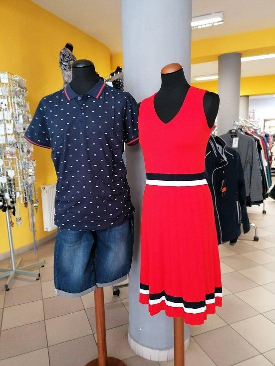 Obchod se stylovou módou ve Vodňanech je připraven na otevření.