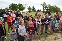 Dobrá nálada panovala na dětském dni v Lidmovicích, který se konal 6. 6. 2020.