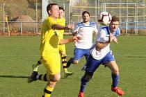 Fotbalová I.A třída: Vodňany - Lhenice 2:2.