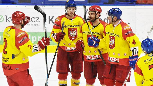 Radomyšl ve čtvrtfinále play off přehrála Veselí nad Lužnicí 6:1. Ilustrační foto.