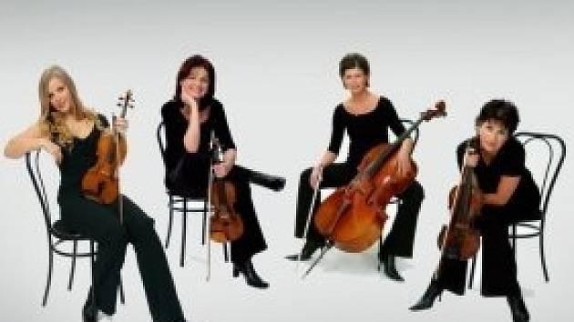 České smyčcové kvarteto Kaprálová  Quartet.