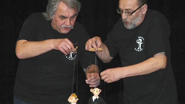 Na snímku Petr Pruner (vpravo) se svým bratrem Janem.