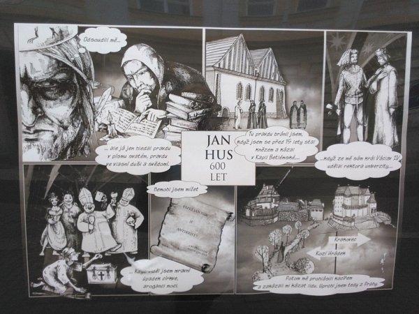Komiks oJanu Husovi.