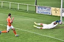 Fotbalová Fortuna divize: Rokycany - Katovice 4:4 - penalty 4:2.