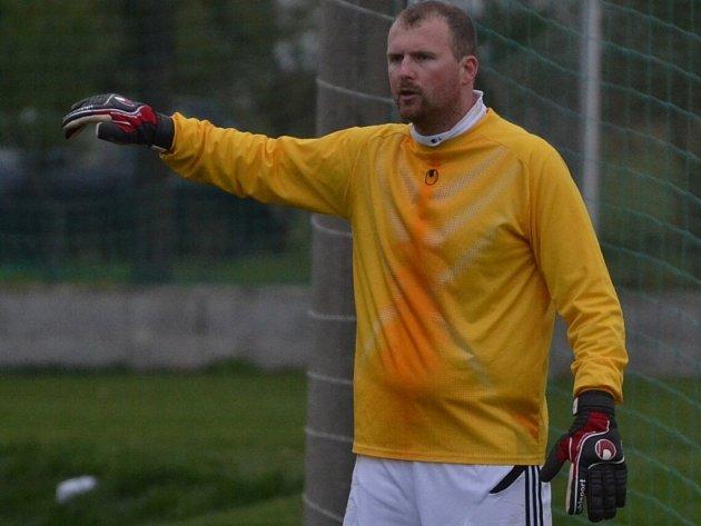 Osecký gólman Jiří Chaluš udržel čisté konto.