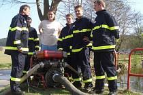 Dobrovolní hasiči z Drachkova.