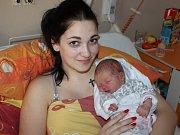 Viktorie Křížová, Blatná, 23.1. 2018, v 6.36 hodin, 2920 g. Malá Viktorie je prvorozená.