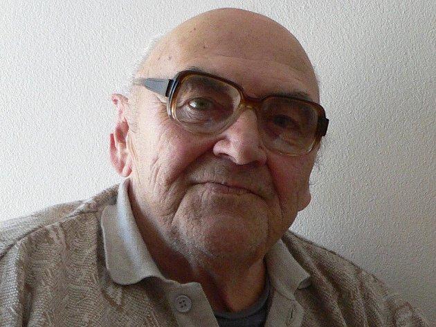 Václav Brejcha žije prvním rokem v Domově pro seniory v Rybniční ulici ve Strakonicích.