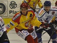 Radomyšl vyhrála venku nad Božeticemi 2:1. Vítězný gól dal Tomáš Burkoň.