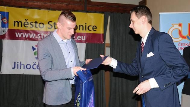 Slavnostní vyhlášení ankety Sportovec okresu Strakonice za rok 2015