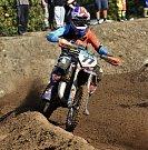 Jinín hostil finále MMČR Junior v motokrosu.