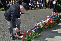 Slavnostní shromáždění u příležitosti 73. výročí ukončení druhé světové války se konalo v neděli 6.května u památníku Na Dubovci.