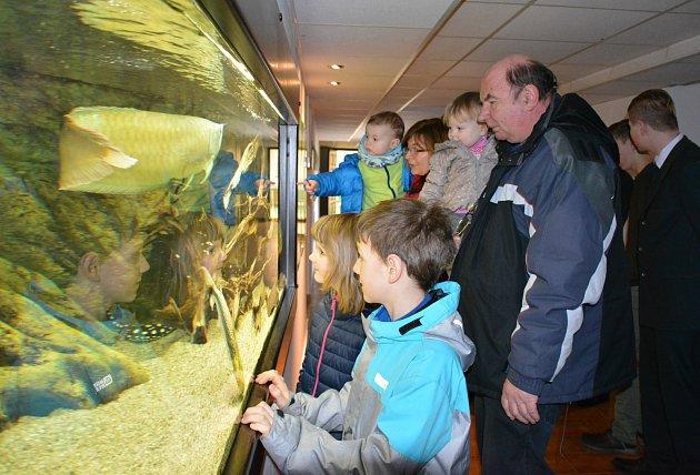 Střední rybářská škola ve Vodňanech pořádala v sobotu 27. ledna Den otevřených dveří.
