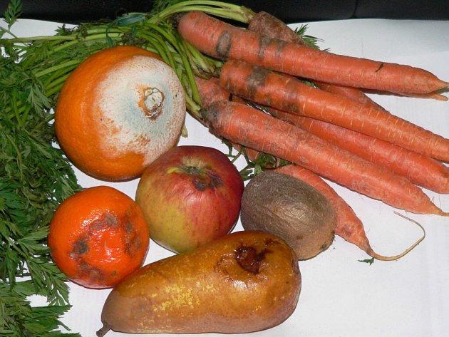 Nakažená zelenina nakoupená v marketech.
