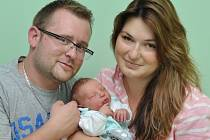 Martin Pšenička, Vacov, 24.8. 2016 v 8.41 hodin, 3320 g. Malý Martin je prvorozený.