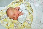 Alan Magg ze Strakonic. Alan se narodil 20. prosince 2018 ve 23 hodin a 14 minut a při narození vážil 3950 g. Malý Alan je prvorozený.