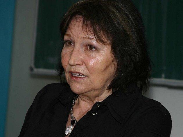 Marta Kubišová vyprávěla studentům o všem, co ji v životě potkalo.