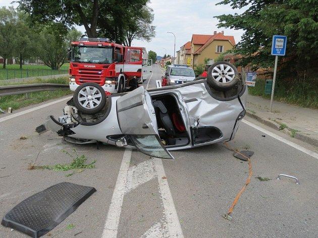 Nehoda na Volyňské.