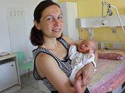 Emílie Čimerová, Volyně, 26.5. 2017 ve 14.47 hodin, 3050 g. Malá Emílie je prvorozená.