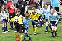 Fotbalové soutěže mládeže pokračovaly dalším kolem. Ilustrační foto.