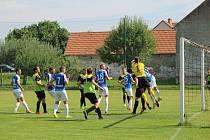 Fotbalový KP: Osek - Táborsko B 2:1.