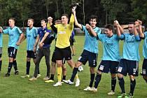 Fotbalová divize: Katovice - Hořovicko 2:1.