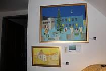 Výstava obrazů Valentina Horby.