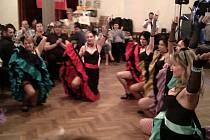 Hasičský ples v Zahorčicích ozdobil dort.