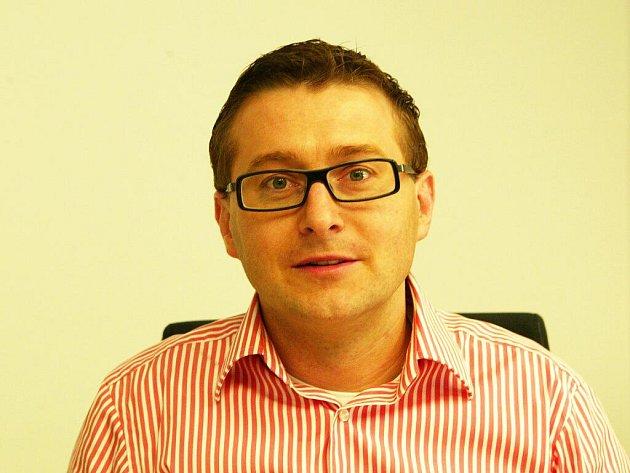 Podnikatel Martin Vrba.
