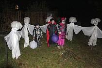 O víkendu se v Radomyšli konaly oslavy Halloweenu.