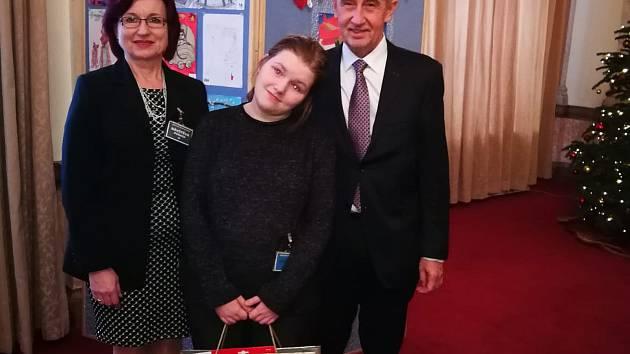 Kristýna Krejčová byla druhá.