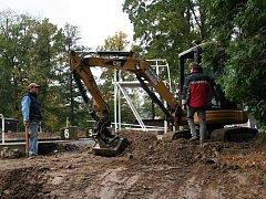 Rekonstrukce plovárny ve Volyni.