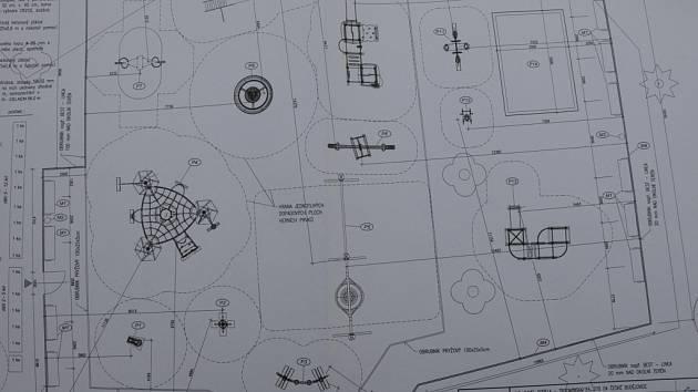 Nové hřiště by mělo být rozděleno do herních zón podle věku.