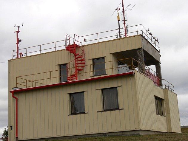 Meteorologická stanice v Kocelovicích.