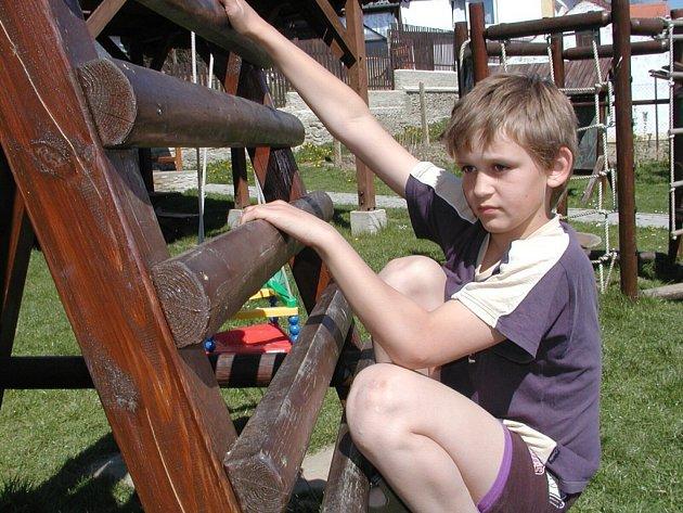 Nové dětské hřiště v Truskovicích