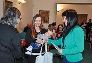 V obřadní síni strakonické radnice se v úterý 11. prosince uskutečnilo vítání občánků.