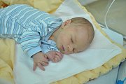 Theodor Jozef Mozolík, Strakonice, 13.10. 2017 ve 14.15 hodin, 3190 g. Malý Theodor Jozef je prvorozený.