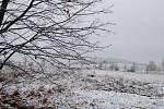 V noci na středu 13. listopadu napadl na Strakonicku první sníh.