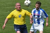 Radošovice doma porazily Pracejovice 2:0.