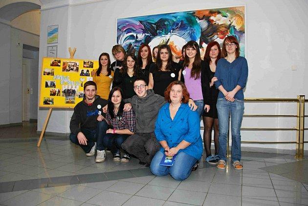 Aktivní občané z volyňské střední školy