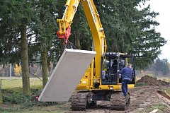 Nová vodní nádrž bude v Drahonicích hotová již koncem listopadu.