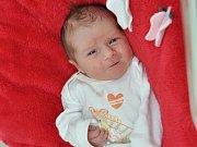 Emma Kahovcová, Holkovice,  7.3. 2017 v 9.48 hodin,  2550 g. Malá Emma je prvorozená.
